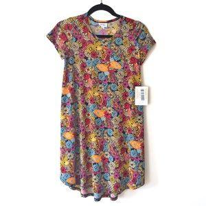 NWT LuLaRoe Scarlett Summer Floral Dress